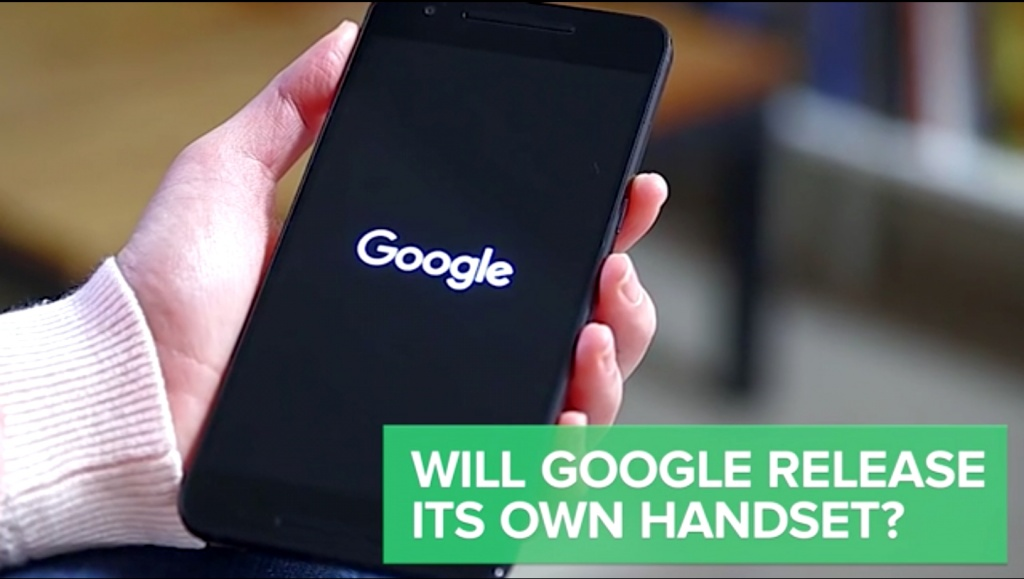 google manufactured smartphones